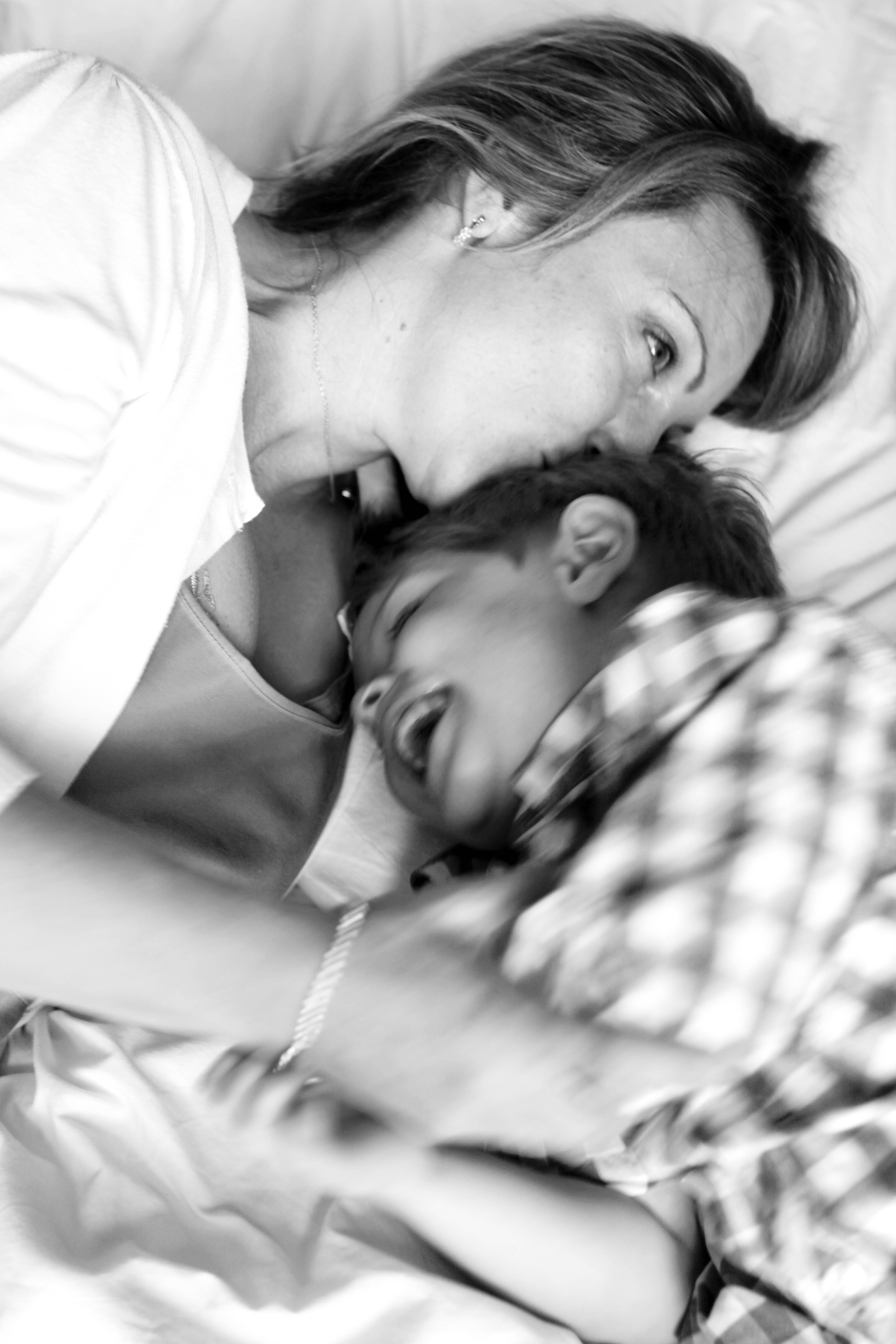Love is Mother and Son Photography